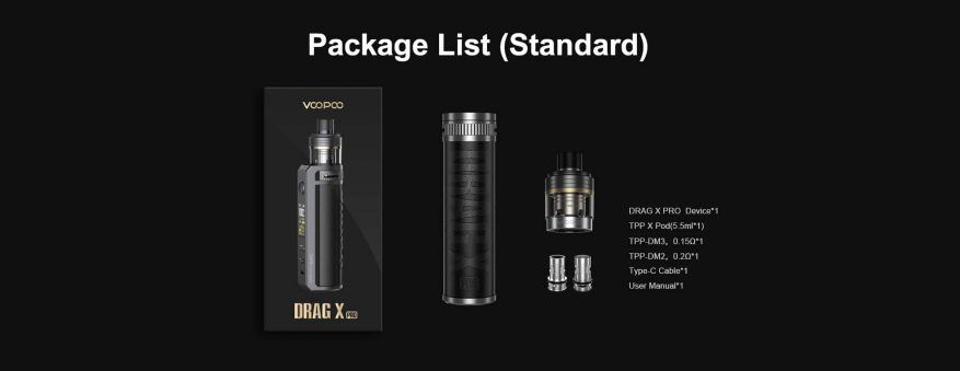 Drag X Pro Package e1628933224754